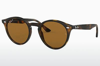 Ophthalmics Ray-Ban RB2180 710/83 - Brown, Havanna