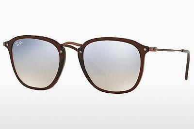 Ophthalmics Ray-Ban RB2448N 62569U - Transparent, Brown