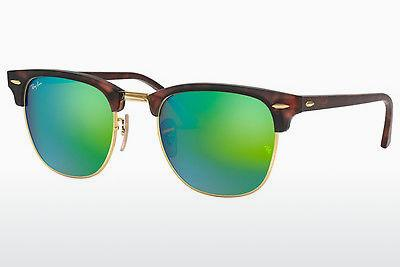 Ophthalmics Ray-Ban CLUBMASTER (RB3016 114519) - Brown, Havanna, Sand, Black