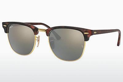 Ophthalmics Ray-Ban CLUBMASTER (RB3016 114530) - Brown, Havanna