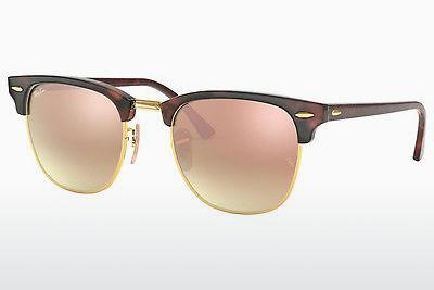 Ophthalmics Ray-Ban CLUBMASTER (RB3016 990/7O) - Brown, Havanna