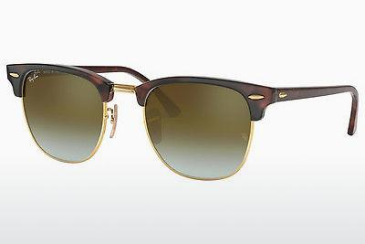 Ophthalmics Ray-Ban CLUBMASTER (RB3016 990/9J) - Brown, Havanna