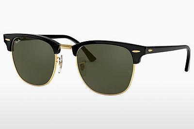 Ophthalmics Ray-Ban CLUBMASTER (RB3016 W0365) - Black