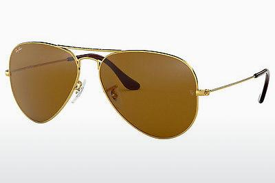 Ophthalmics Ray-Ban AVIATOR LARGE METAL (RB3025 001/33) - Gold