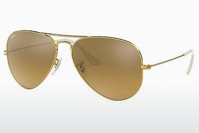 Ophthalmics Ray-Ban AVIATOR LARGE METAL (RB3025 001/3K) - Gold