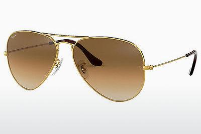 Ophthalmics Ray-Ban AVIATOR LARGE METAL (RB3025 001/51) - Gold