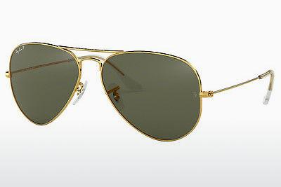 Ophthalmics Ray-Ban AVIATOR LARGE METAL (RB3025 001/58) - Gold