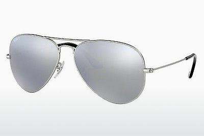 Ophthalmics Ray-Ban AVIATOR LARGE METAL (RB3025 019/W3) - Silver