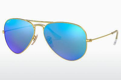 Ophthalmics Ray-Ban AVIATOR LARGE METAL (RB3025 112/4L) - Gold