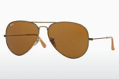 Ophthalmics Ray-Ban AVIATOR LARGE METAL (RB3025 177/33) - Gold