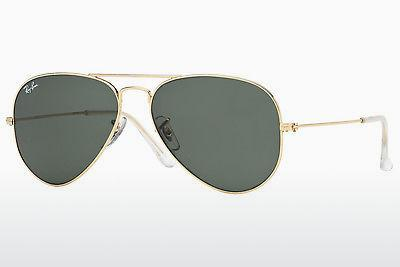 Ophthalmics Ray-Ban AVIATOR LARGE METAL (RB3025 W3234) - Gold