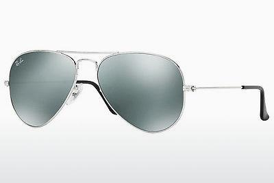 Ophthalmics Ray-Ban AVIATOR LARGE METAL (RB3025 W3275) - Silver