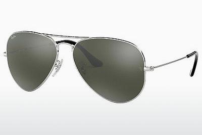 Ophthalmics Ray-Ban AVIATOR LARGE METAL (RB3025 W3277) - Silver