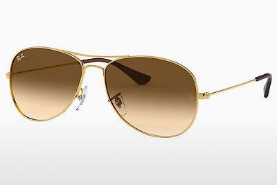 Ophthalmics Ray-Ban COCKPIT (RB3362 001/51) - Gold