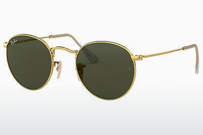 Ophthalmics Ray-Ban ROUND METAL (RB3447 001) - Gold