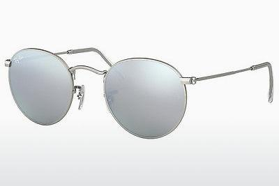 Ophthalmics Ray-Ban ROUND METAL (RB3447 019/30) - Silver