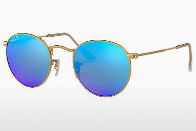 Ophthalmics Ray-Ban ROUND METAL (RB3447 112/4L) - Gold