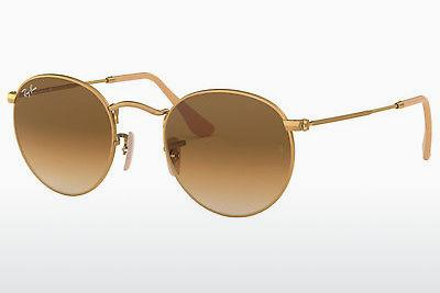Ophthalmics Ray-Ban ROUND METAL (RB3447 112/51) - Gold