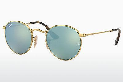 Ophthalmics Ray-Ban ROUND METAL (RB3447N 001/30) - Gold