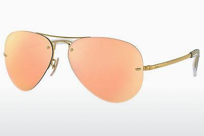 Ophthalmics Ray-Ban RB3449 001/2Y - Gold