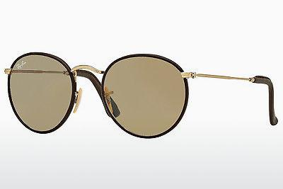 Ophthalmics Ray-Ban ROUND CRAFT (RB3475Q 112/53) - Gold, Brown