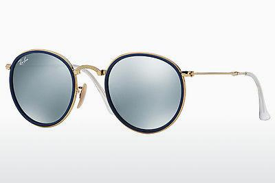 Ophthalmics Ray-Ban ROUND (RB3517 001/30) - Gold