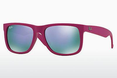 Ophthalmics Ray-Ban JUSTIN (RB4165 60894V) - Pink, Red