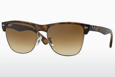 Ophthalmics Ray-Ban CLUBMASTER OVERSIZED (RB4175 878/51) - Grey, Brown, Havanna