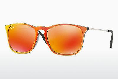Ophthalmics Ray-Ban CHRIS (RB4187 63206Q) - Grey, Orange