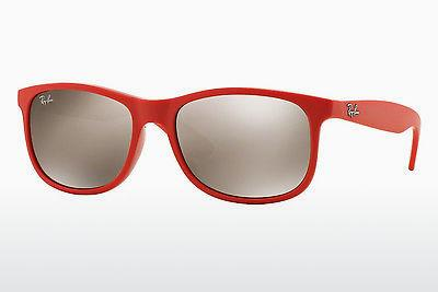 Ophthalmics Ray-Ban ANDY (RB4202 61555A) - Red