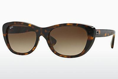 Ophthalmics Ray-Ban RB4227 710/13 - Brown, Havanna