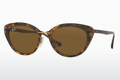 Ophthalmics Ray-Ban RB4250 710/73 - Brown, Havanna