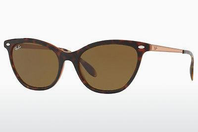 Ophthalmics Ray-Ban RB4360 123373 - Brown, Havanna