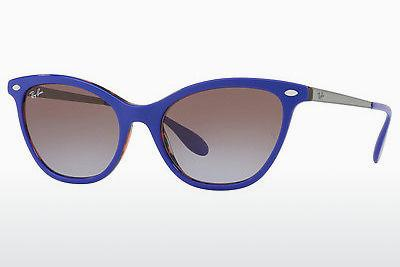 Ophthalmics Ray-Ban RB4360 123668 - Purple, Orange, Brown, Havanna
