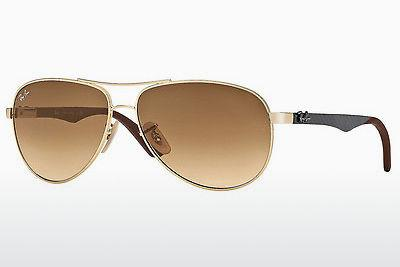 Ophthalmics Ray-Ban CARBON FIBRE (RB8313 001/51) - Gold