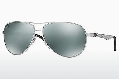 Ophthalmics Ray-Ban CARBON FIBRE (RB8313 003/40) - Silver