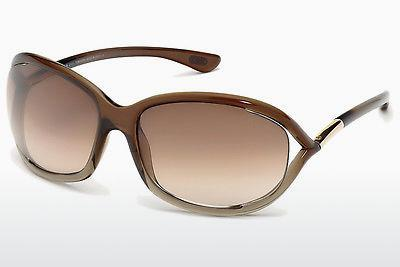 Ophthalmics Tom Ford Jennifer (FT0008 38F) - Bronze