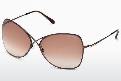 Ophthalmics Tom Ford Colette (FT0250 48F) - Brown, Dark, Shiny