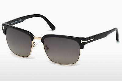 Ophthalmics Tom Ford River (FT0367 01D) - Black, Shiny
