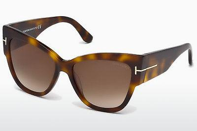 Ophthalmics Tom Ford Anoushka (FT0371 53F) - Havanna, Yellow, Blond, Brown