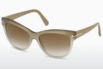Ophthalmics Tom Ford Lily (FT0430 59G) - Horn, Beige, Brown
