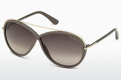 Ophthalmics Tom Ford Tamara (FT0454 59K) - Horn, Beige, Brown