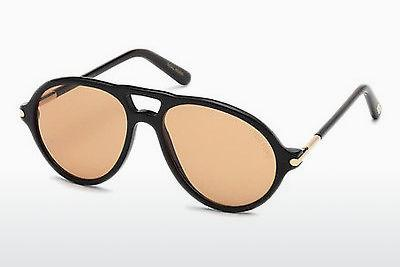 Ophthalmics Tom Ford Tom N.10 (FT0491-P 63E) - Brown, Ivory, Black