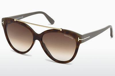 Ophthalmics Tom Ford Livia (FT0518 53F) - Havanna, Yellow, Blond, Brown