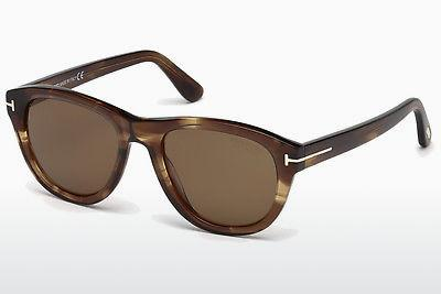 Ophthalmics Tom Ford Benedict (FT0520 50H) - Brown, Dark