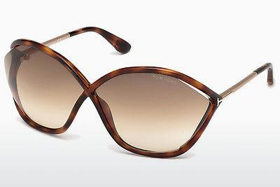 Ophthalmics Tom Ford Bella (FT0529 53F) - Havanna, Yellow, Blond, Brown