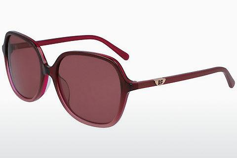 Ophthalmics Diane von Fürstenberg DVF666S HEATHER 605