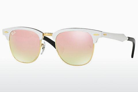Ophthalmics Ray-Ban CLUBMASTER ALUMINUM (RB3507 137/7O)
