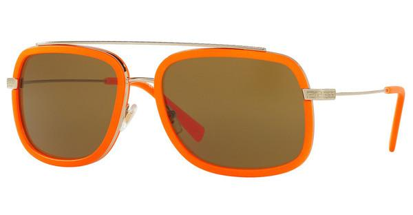 Versace   VE2173 138973 BROWNPALE GOLD/FLUO ORANGE