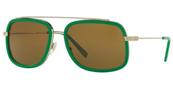 Versace   VE2173 139073 BROWNPALE GOLD/GREEN